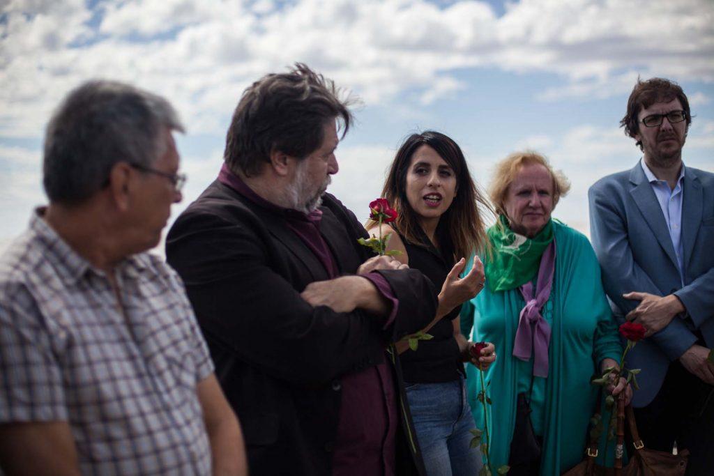 German Ayala, Claudio Lozano, Victoria Donda, Nina Brugo y Nicolas Tauber
