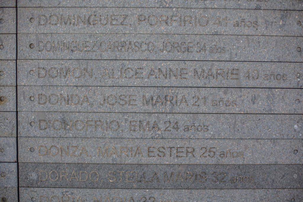 José María Donda, 21 años / María Hilda Pérez – 26 años, embarazada.