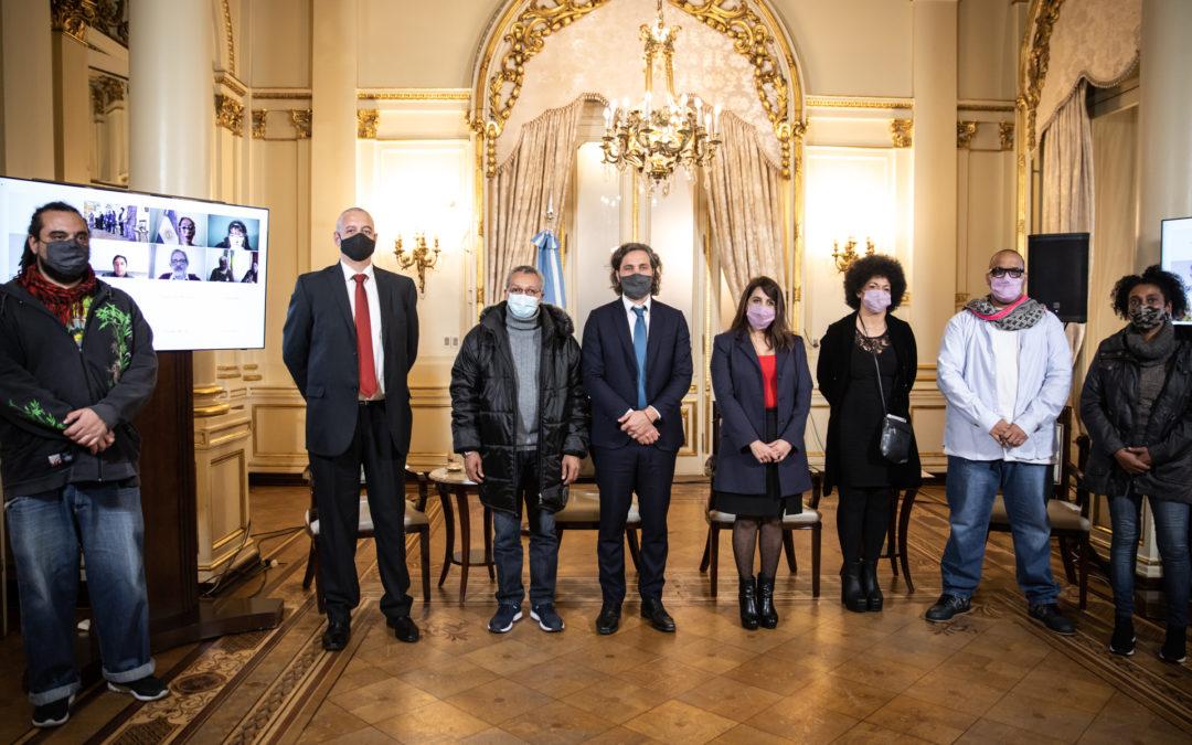 Presentamos el Consejo Asesor Federal de la Comunidad Afroargentina en Casa Rosada